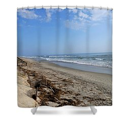 Outer Banks Morning Shower Curtain