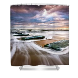 Outer Banks North Carolina Beach Sunrise Seascape Photography Obx Nags Head Nc Shower Curtain