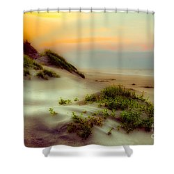 Outer Banks Soft Dune Sunrise Fx1 Shower Curtain