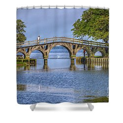Outer Banks Whalehead Club Bridge  Shower Curtain by Randy Steele