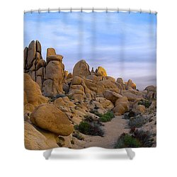 Outer Limits Pano View Shower Curtain
