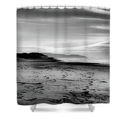 Outer Sunset Ocean Beach San Francisco Shower Curtain