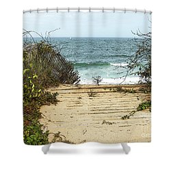 Outermost Passage Shower Curtain by Michelle Wiarda