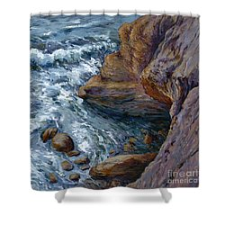 Outrush Shower Curtain