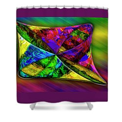 Shower Curtain featuring the photograph Outside In by Paul Wear