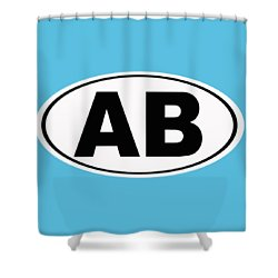 Shower Curtain featuring the photograph Oval Ab Atlantic Beach Florida Home Pride by Keith Webber Jr