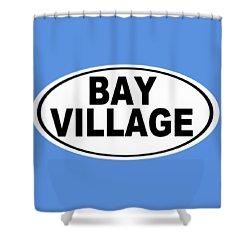 Shower Curtain featuring the photograph Oval Bay Village Ohio Home Pride by Keith Webber Jr