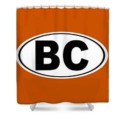 Shower Curtain featuring the photograph Oval Bc Boulder City Colorado Home Pride by Keith Webber Jr