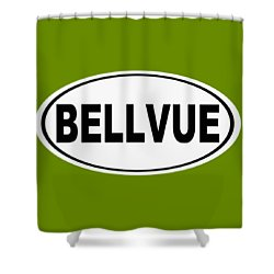 Shower Curtain featuring the photograph Oval Bellvue Colorado Home Pride by Keith Webber Jr