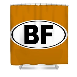 Shower Curtain featuring the photograph Oval Bf Beaver Falls Pennsylvania Home Pride by Keith Webber Jr