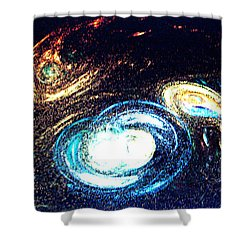 Shower Curtain featuring the photograph Oval Dream - Modern Art by Merton Allen