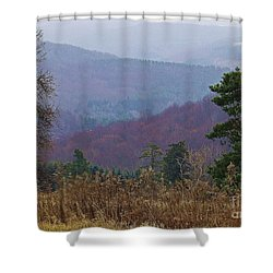 Shower Curtain featuring the photograph Over And Over And Over by Christian Mattison