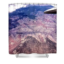 Over The Canyon Shower Curtain