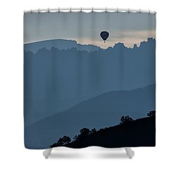 Over The Cimarrons Shower Curtain