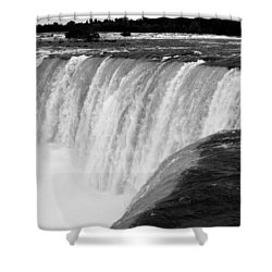 Over The Dam Shower Curtain