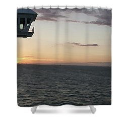 Over The Edge Photo/painting Shower Curtain