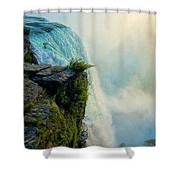 Over The Falls II Shower Curtain