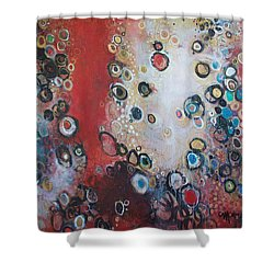 Over The Rainbow Shower Curtain by Laurie Maves ART