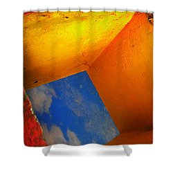 Over The Rainbow Shower Curtain by Skip Hunt
