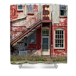 Shower Curtain featuring the photograph Over Under The Stairs by Christopher Holmes