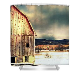 Shower Curtain featuring the photograph Over Yonder by Julie Hamilton