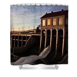 Overholser Dam Shower Curtain