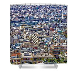 Shower Curtain featuring the photograph Urban by Mitch Cat