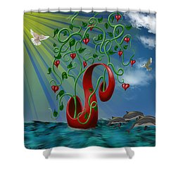Overseas Hope Shower Curtain
