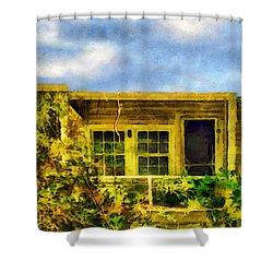 Overtaken Shower Curtain by RC deWinter