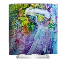Overwhelming Love Shower Curtain
