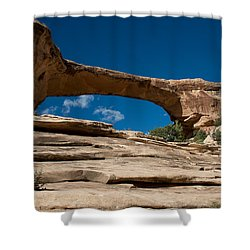 Owachomo Bridge Shower Curtain