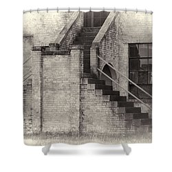 Owens Field Historic Curtiss-wright Hangar Shower Curtain