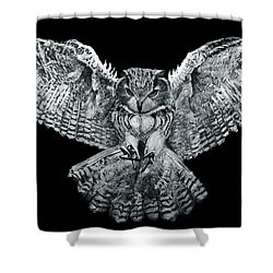 Owl 1 Shower Curtain