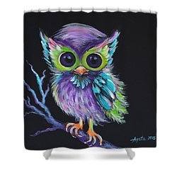 Owl Be Your Friend Shower Curtain