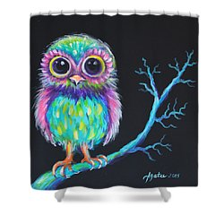 Owl Be Your Girlfriend Shower Curtain