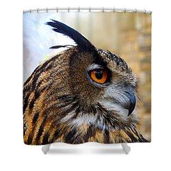 Owl-cry Shower Curtain