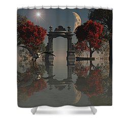 Owl Hunting Shower Curtain