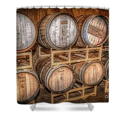 Owl's Eye Winery Shower Curtain by Marion Johnson