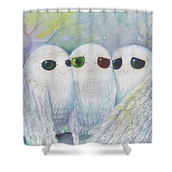 Owls From Dream Shower Curtain
