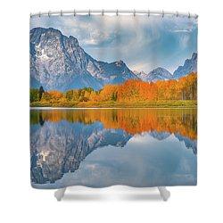 Oxbow's Autumn Shower Curtain