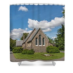Oxford Church Shower Curtain