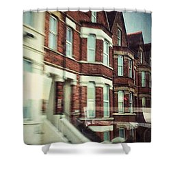 Shower Curtain featuring the photograph Oxford by Persephone Artworks