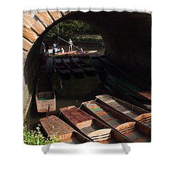 Oxford Punts Shower Curtain
