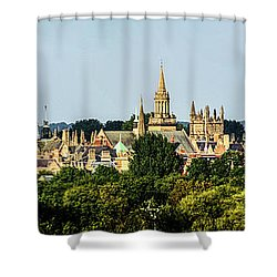 Oxford Spires Shower Curtain