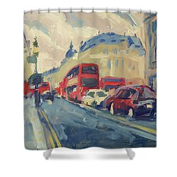 Oxford Street Shower Curtain
