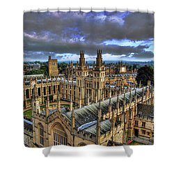 Oxford University - All Souls College Shower Curtain
