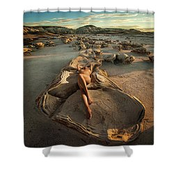 Oyster Bed Shower Curtain