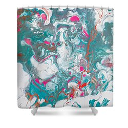 Oysters And Pearls Shower Curtain