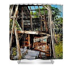 Ozark Barn Shower Curtain