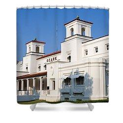 Ozark Bath House Shower Curtain